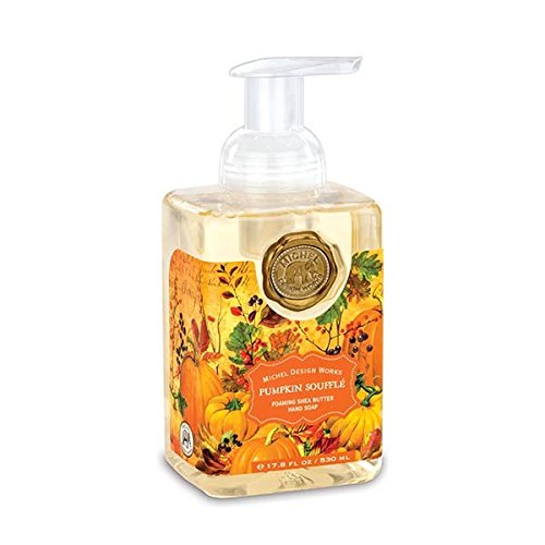 Michel Design Works Scented Foaming Hand Soap, Pumpkin Soufflé