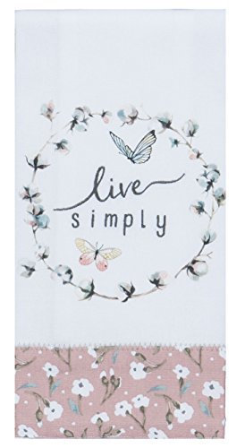 Kay Dee Designs R4107 Handmade Live Simply Tea Towel