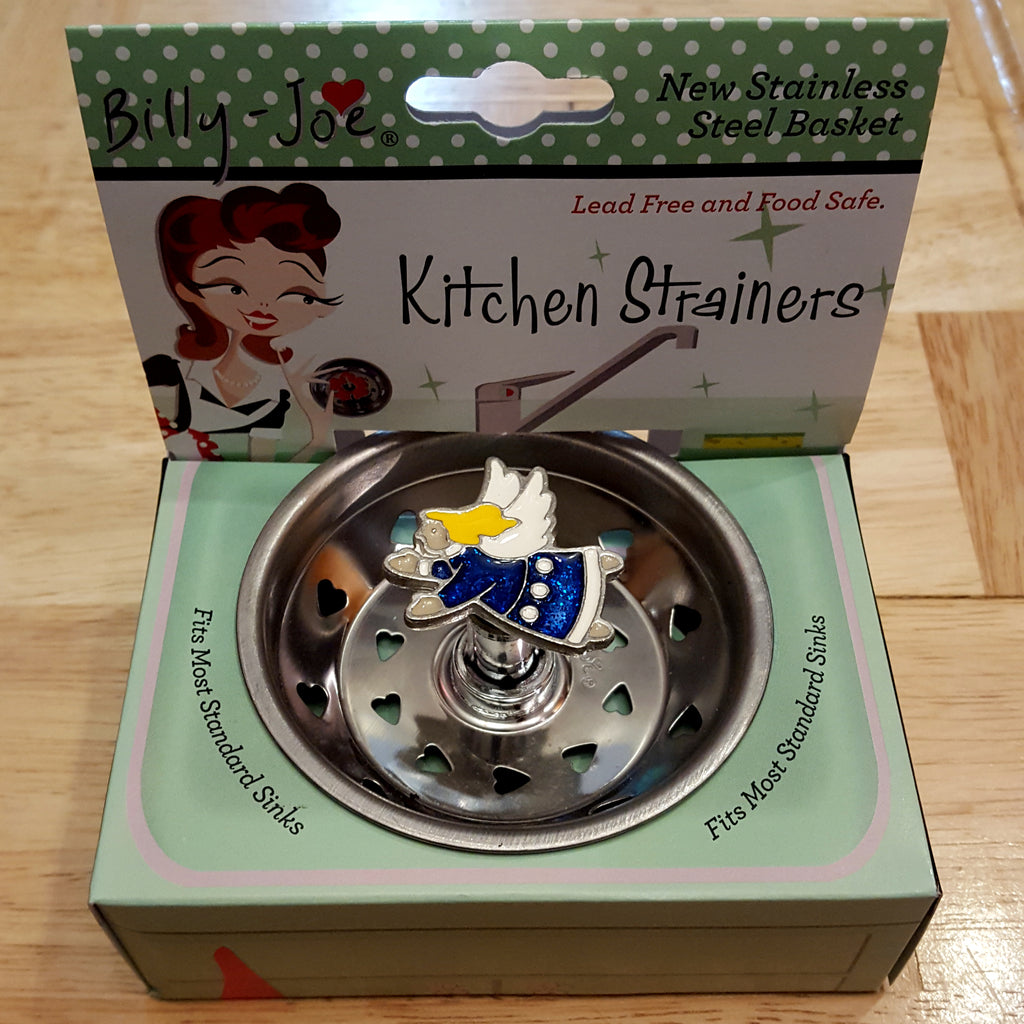 Enamel Lovely Angel Kitchen Stainless Sink Strainer