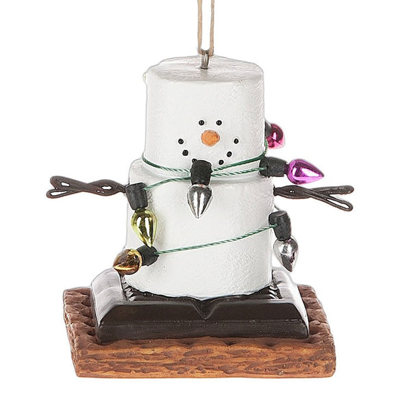 S'Mores Wrapped Up In Lights Christmas/ Everyday Ornament