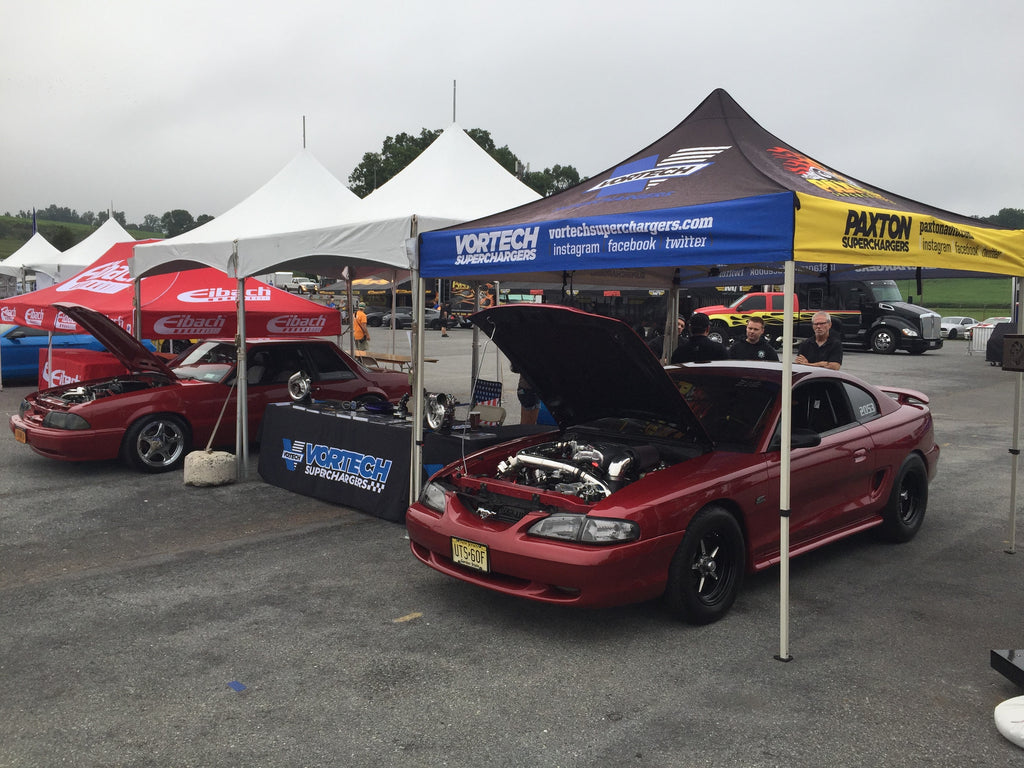 Vortech Superchargers At The 2017 American Muscle Mustang Show...
