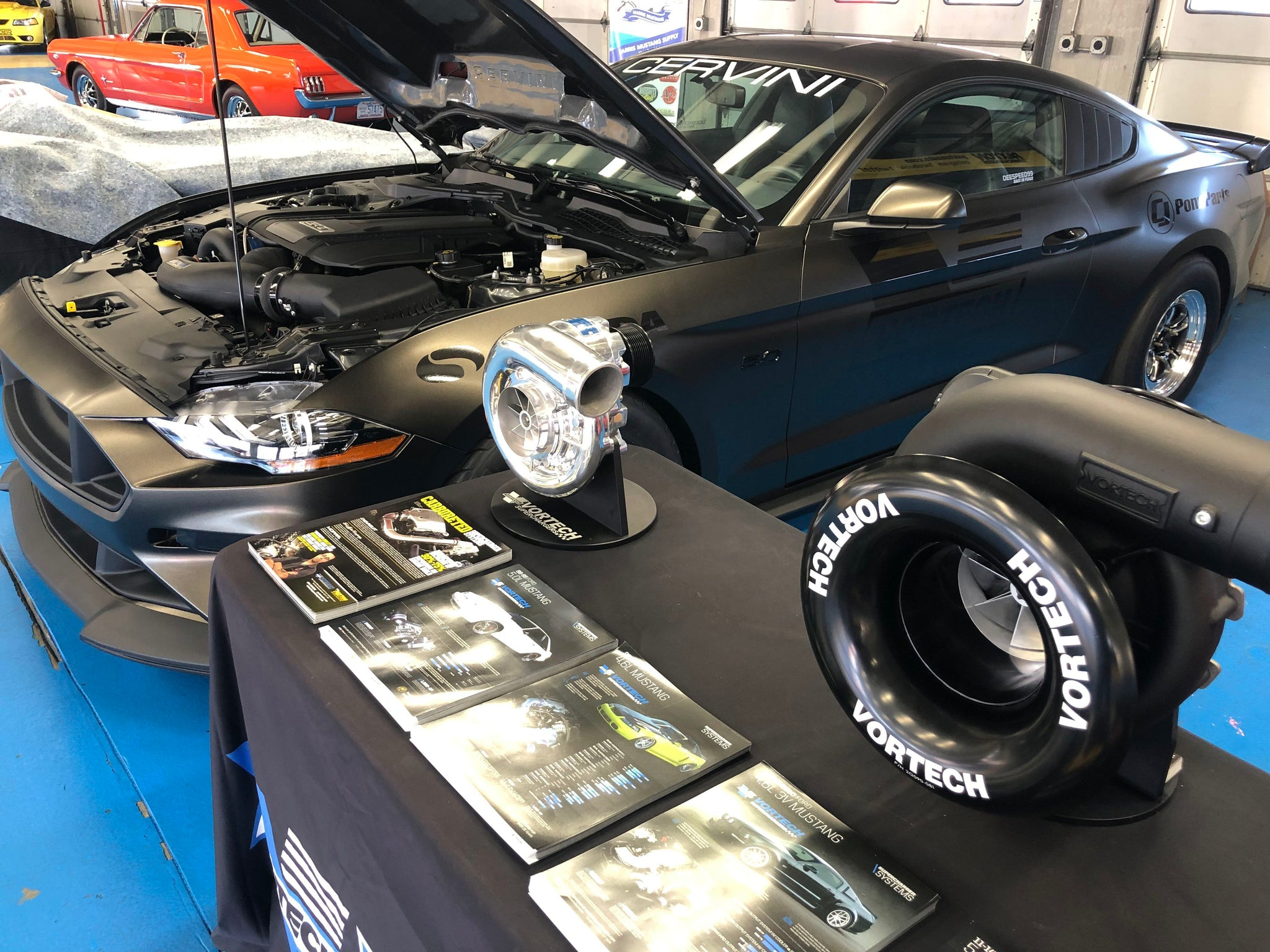 Vortech & Paxton Superchargers @ The Mustang 55th