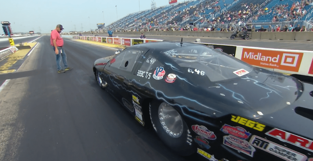 Vortech Supercharged NHRA Top Sportsman Champ, Leggett goes 200+MPH