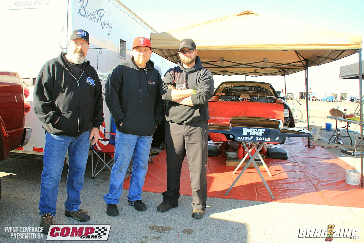 Chris Groves with Lance Keck from Vortech Superchargers
