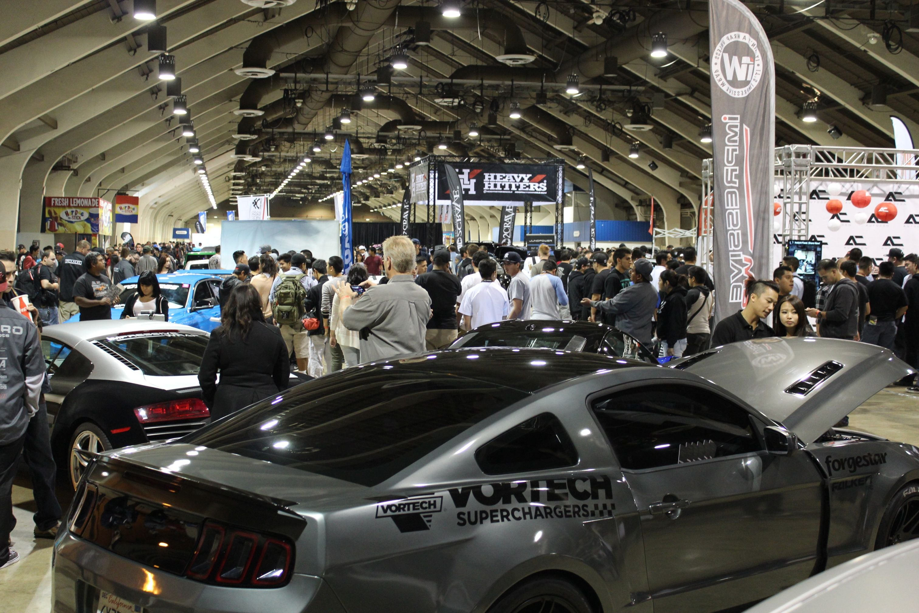 Indoor crowd from Autocon LA 2014