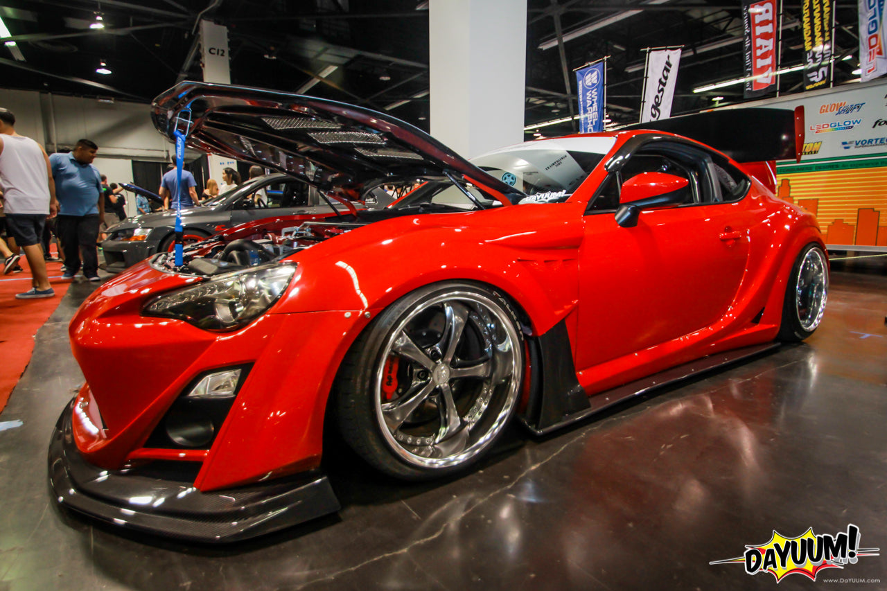 Noel Barnum's Vortech V-3 H67B Supercharged Varis Widebody Scion FR-S