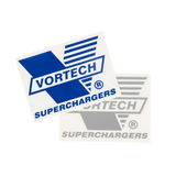 Vortech V-Logo Die-Cut Decals