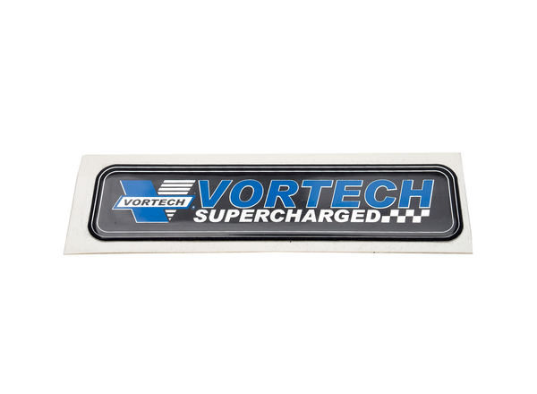 Vortech Supercharged Air Inlet Decal
