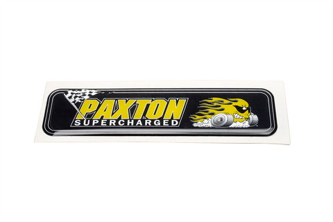 Paxton Supercharged Air Inlet Decal