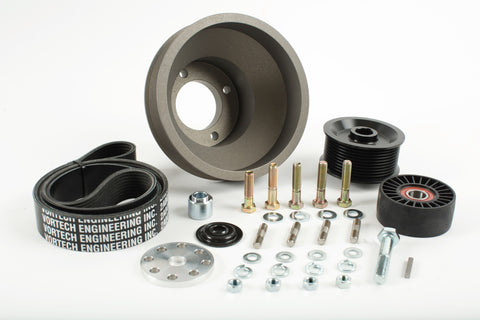 Pulley Packages, 1986-1993 Ford 5.0 Mustang, Underdrive