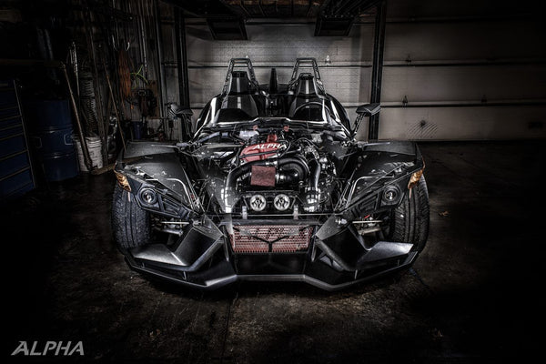 Alpha Powersport Polaris Slingshot Supercharger Systems