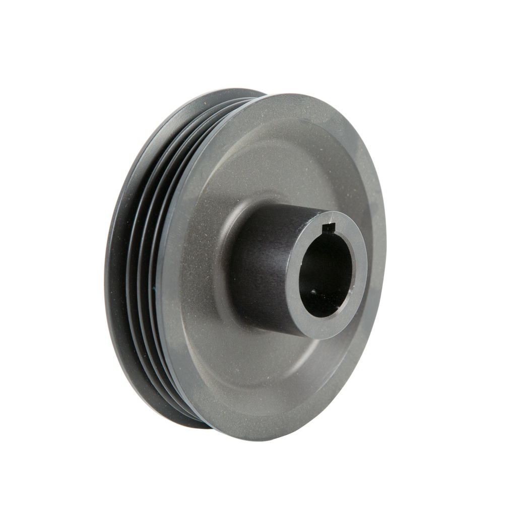 Vortech Supercharger Crank Pulley: 4-Rib Supercharger Drive Pulleys