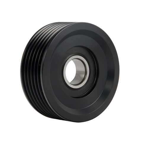 "6-Rib, 2.6"" Ribbed Idler Pulley"