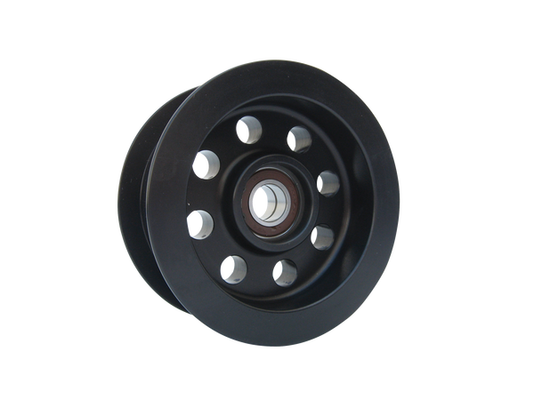"Idler Pulley Assembly with Flanges / Dual Bearing / 4.00"" (50mm)"