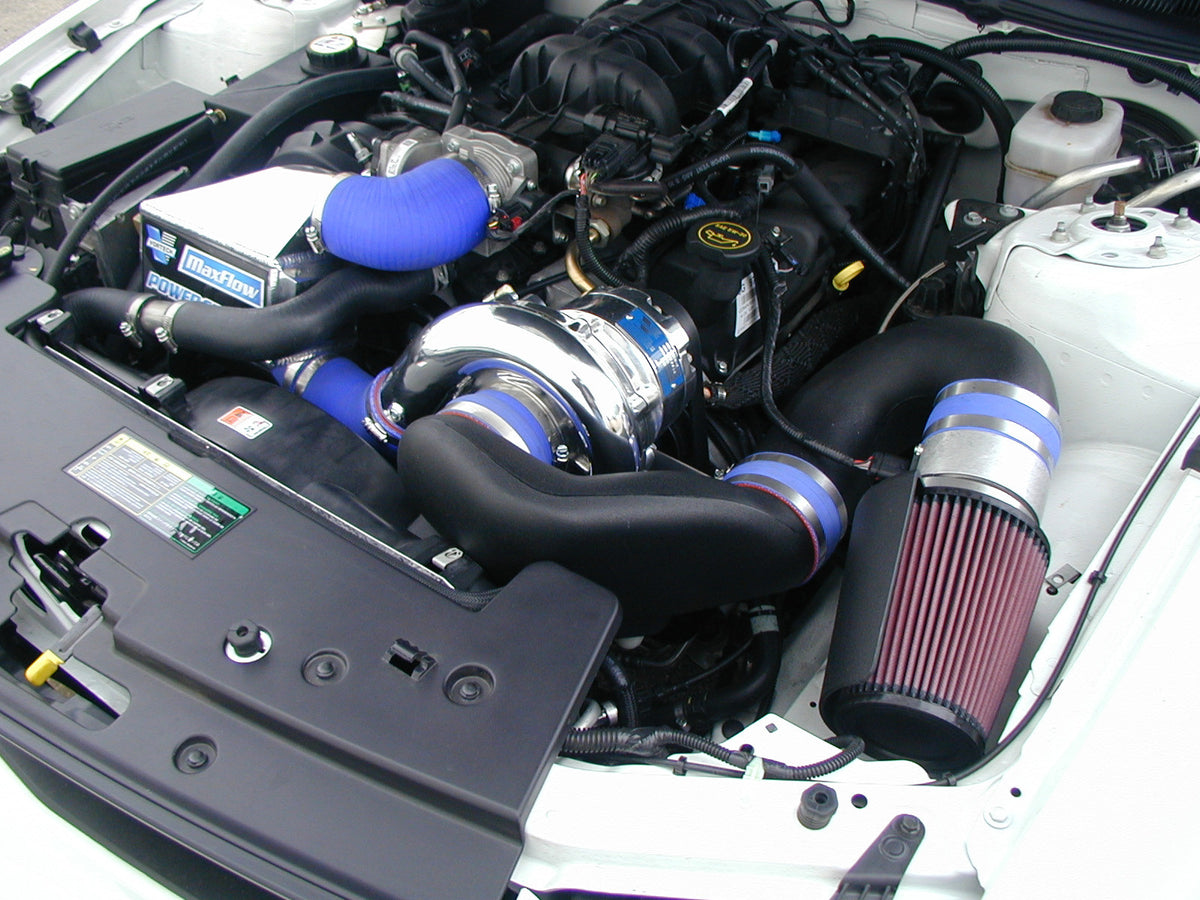 2005 2008 ford 4 0 v6 mustang high output supercharger systems