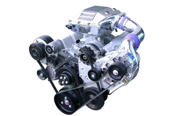 Universal Chevrolet Small Block Carbureted Supercharger Systems
