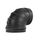 "Rubber Elbow, 4.0"" x 90 Degree"