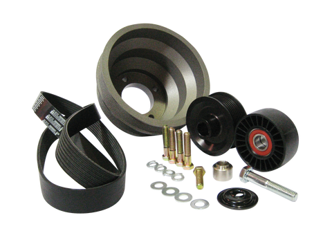 Pulley Packages, 1986-1993 Ford 5.0 Mustang, Non-Underdrive