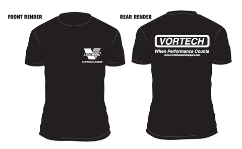Vortech Classic When Performance Counts T-Shirt