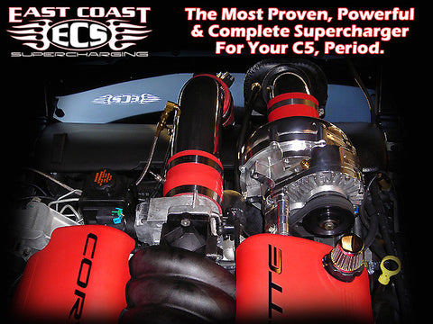 East Coast Supercharging 1997-2004 Chevrolet C5 Corvette Supercharger Systems