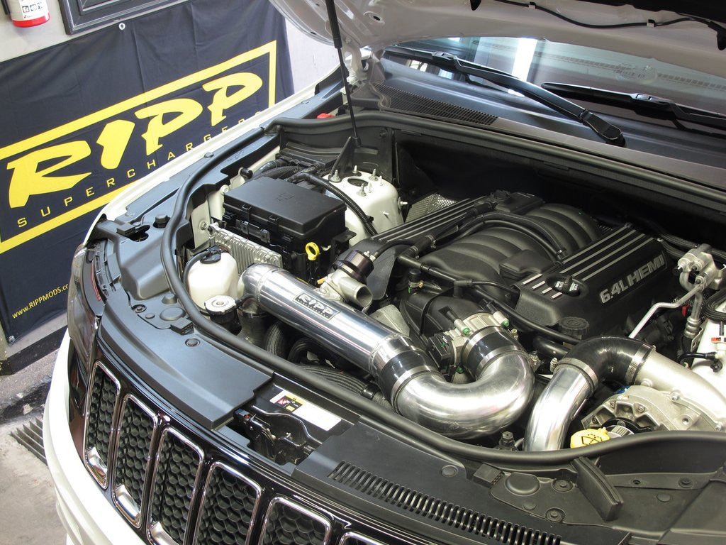 Delightful RIPP Superchargers 2015 Jeep 6.4L Grand Cherokee SRT8 Supercharger Systems
