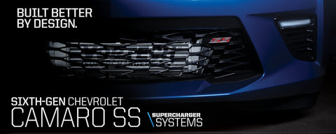 Sixth Gen Camaro SS Supercharger System