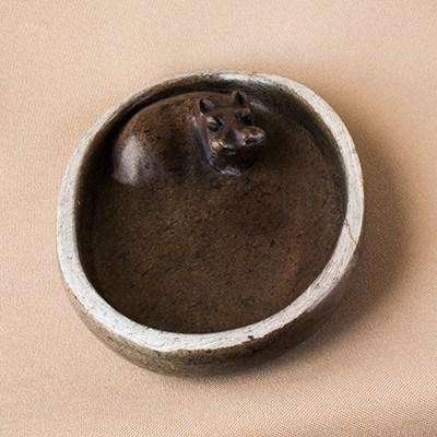 Bathing Hippo Soap Dish - Manduwe.com
