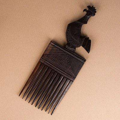 Afro Comb Malawi Display Piece - Manduwe.com