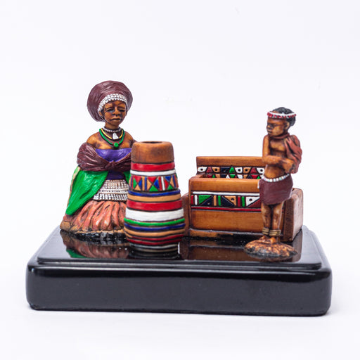 Xhosa Tribe Office Set - Africa Handmade