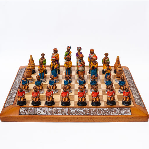 African Chess Set - Africa Handmade