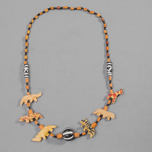 African Animals Wooden Necklace - Africa Handmade