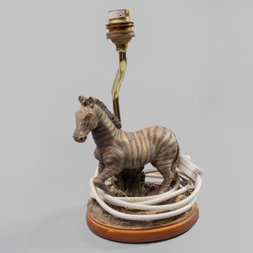 Running Wild With The Zebra Lamp Holder - Africa Handmade