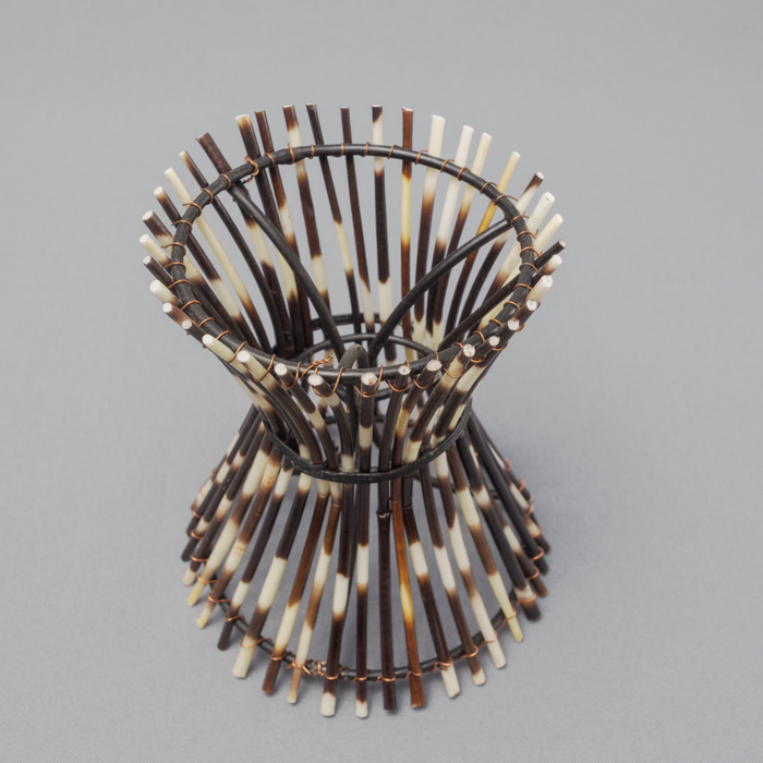 African Porcupine Quill Egg Stand - Africa Handmade