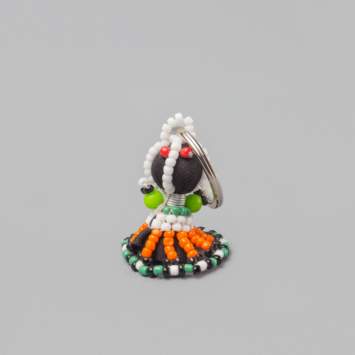 Ndebele Traditional Women Beaded Key-holder - Africa Handmade