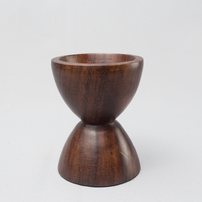 Ebony Wood Egg Holder - Africa Handmade