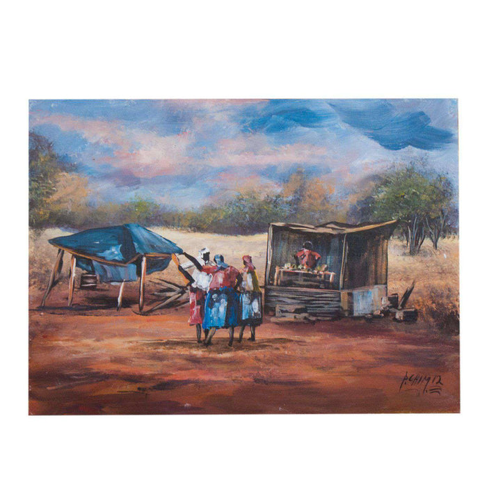 African Farm Stall by Peter Chimucheka - Africa Handmade
