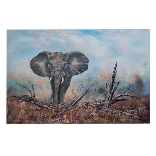 Elephant Bull by Peter Chimucheka - Africa Handmade