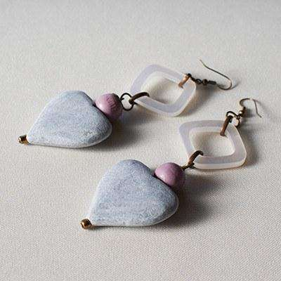 Earrings by Palesa Khobane - Africa Handmade