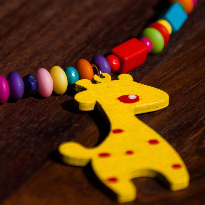 Kiddies Multi-Colored Animal Necklaces (Various Animals) - Africa Handmade