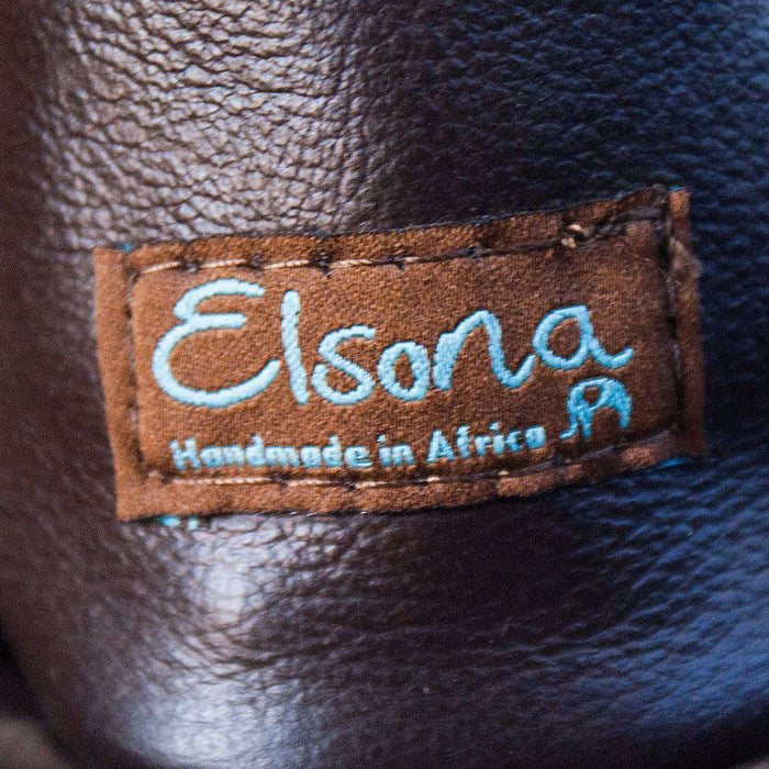 Leather Women's Hand Bag by Elsona - Africa Handmade