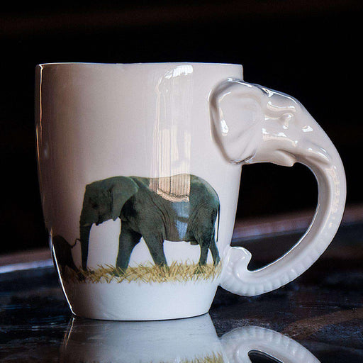 African Animal Shaped Coffee Mugs - Africa Handmade