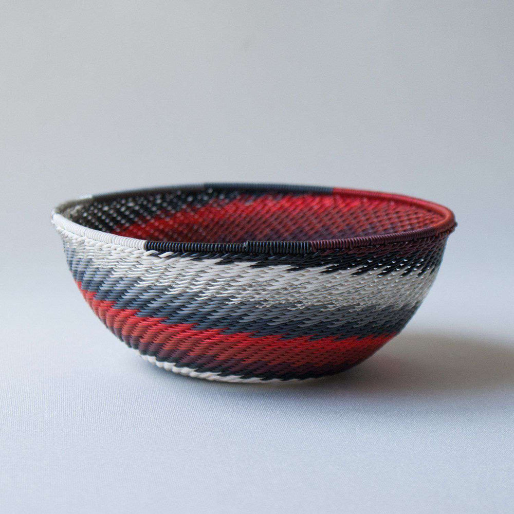 Colored wire bowls handcrafted - Africa Handmade
