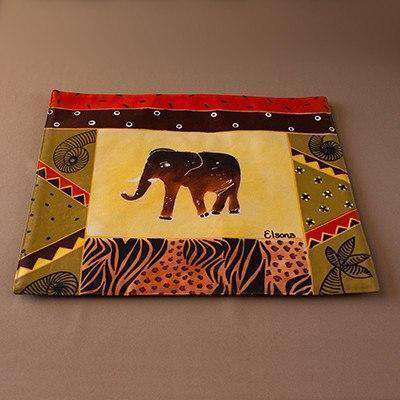 Hand Painted Placemats by Elsona - Africa Handmade
