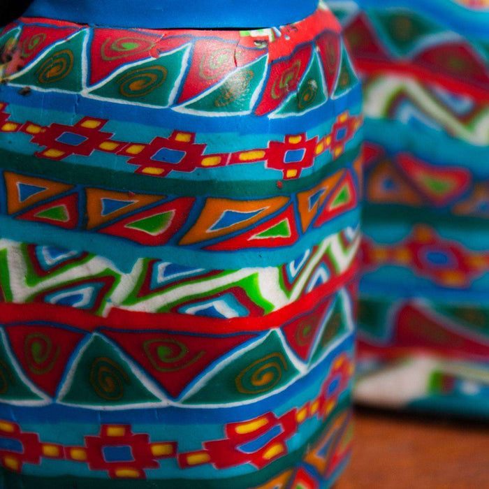 Hand Painted Salt and Pepper Shakers Various - Africa Handmade