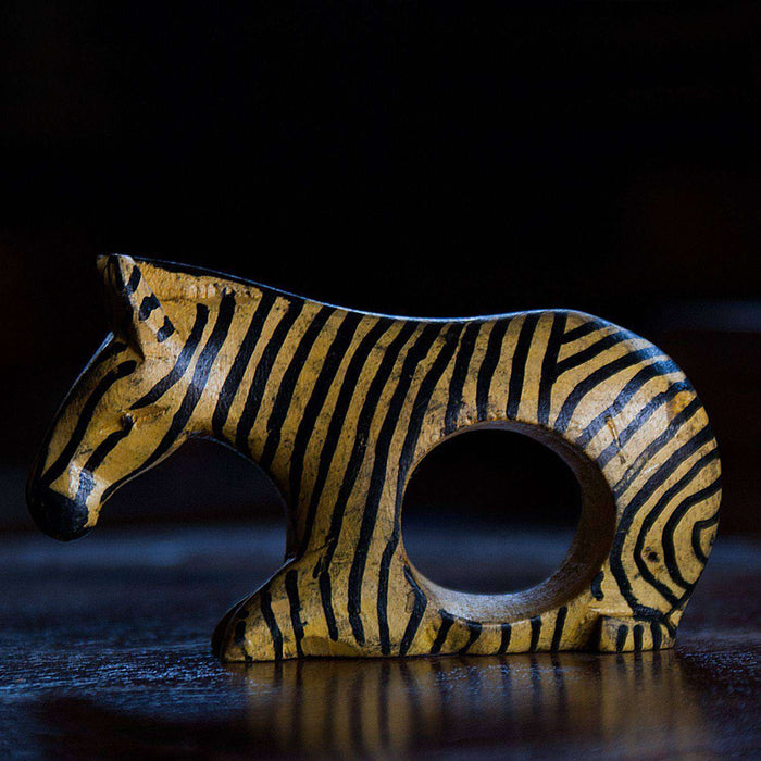 Handmade African Animal Napkin Holders (Set of 3) - Africa Handmade