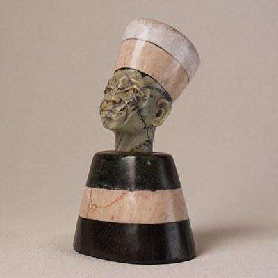 Multi Stone Stone Sculpture Busts Various - Africa Handmade