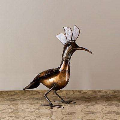 "Hoopy Bird (""Hoopoe"") - Africa Handmade"