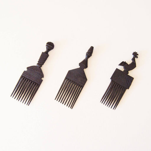 Afro Comb Malawi Display Piece Various - Manduwe.com
