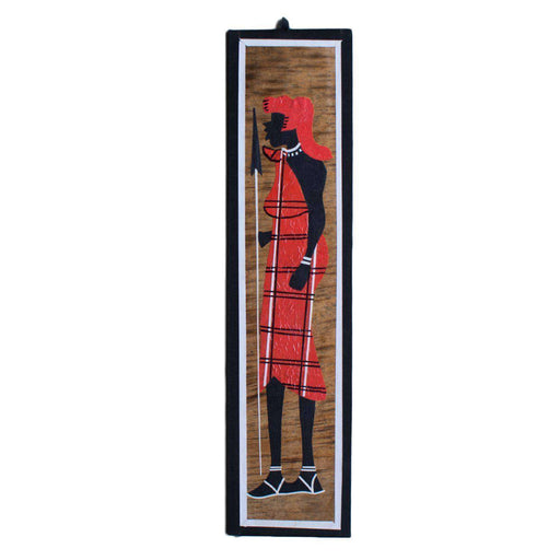 Banana Leaf Maasai Man and Woman Set - Africa Handmade