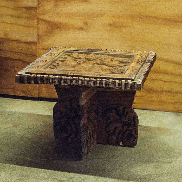 Big 5 African (Animals) Side Table - Africa Handmade